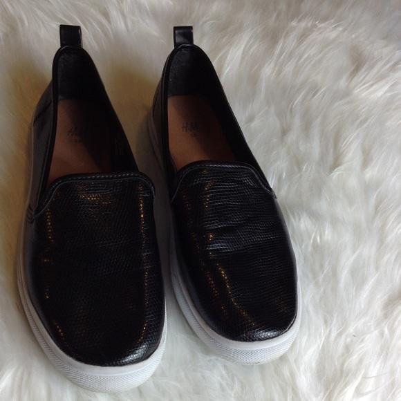 H\u0026M Shoes   Hm Black White Slip On